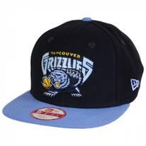 Vancouver Grizzlies NBA Hardwood Classics 9Fifty Snapback Baseball Cap