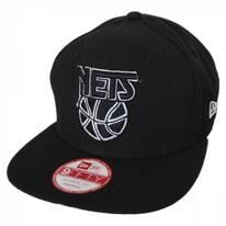 Brooklyn Nets NBA Hardwood Classics 9Fifty Snapback Baseball Cap