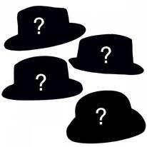 FOURdora - Four Fedora Hat Assortment