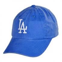 Los Angeles Dodgers MLB Raglan Strapback Baseball Cap Dad Hat