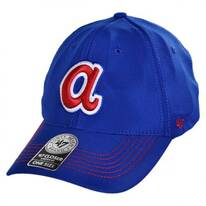 Atlanta Braves MLB GT Closer Fitted Baseball Cap