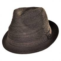 Knit Crown Fabric Fedora Hat