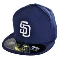 San Diego Padres MLB Home 59Fifty Fitted Baseball Cap