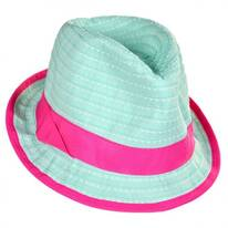 Kids' Ribbon Fedora Hat