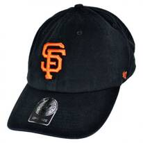 San Francisco Giants MLB Clean Up Strapback Baseball Cap Dad Hat