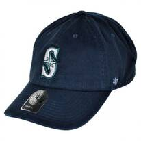 Seattle Mariners MLB Clean Up Strapback Baseball Cap Dad Hat