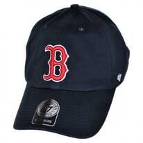 Boston Red Sox MLB Home Clean Up Strapback Baseball Cap Dad Hat