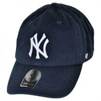New York Yankees MLB Home Clean Up Strapback Baseball Cap Dad Hat