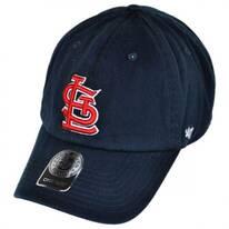 St Louis Cardinals MLB Clean Up Strapback Baseball Cap Dad Hat