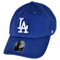 Los Angeles Dodgers MLB Clean Up Strapback Baseball Cap Dad Hat