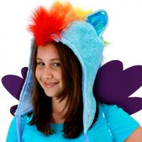 My Little Pony Rainbow Dash Hoodie Hat