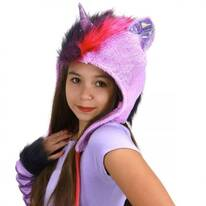 My Little Pony Twilight Sparkle Hoodie Hat