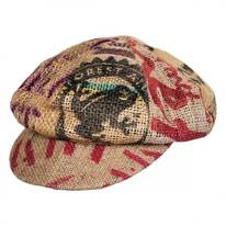 Havana Coffee Works Jute Baker Boy Hat