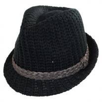 Knit Fedora Hat