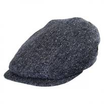 Marl Tweed Donegal Tweed Wool Ivy Cap