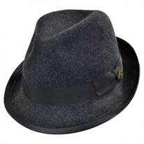 Stretch Wool Felt Fedora Hat
