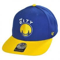 Golden State Warriors NBA Sure Shot Snapback Baseball Cap