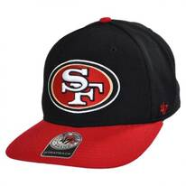 San Francisco 49ers NFL Sure Shot Strapback Baseball Cap Dad Hat