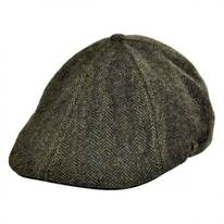 Camo Tweed Wool Blend Duckbill Ivy Cap
