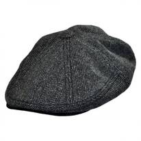 Camo Tweed Wool Blend Newsboy Cap