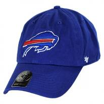 Buffalo Bills NFL Clean Up Strapback Baseball Cap Dad Hat