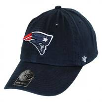 New England Patriots NFL Clean Up Strapback Baseball Cap Dad Hat
