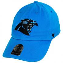 Carolina Panthers NFL Clean Up Strapback Baseball Cap