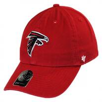 Atlanta Falcons NFL Clean Up Strapback Baseball Cap Dad Hat