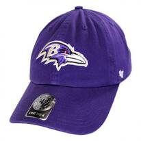 Baltimore Ravens NFL Clean Up Strapback Baseball Cap Dad Hat