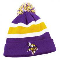 Minnesota Vikings NFL Breakaway Knit Beanie Hat