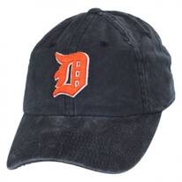 Detroit Tigers MLB Raglan Strapback Baseball Cap Dad Hat