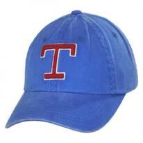 Texas Rangers MLB Raglan Strapback Baseball Cap Dad Hat