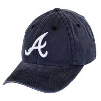 Atlanta Braves MLB Raglan Strapback Baseball Cap Dad Hat