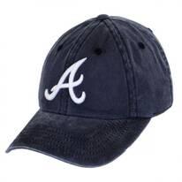 Atlanta Braves MLB Raglan Strapback Baseball Cap