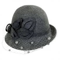 Vivien Wool Felt Cloche Hat