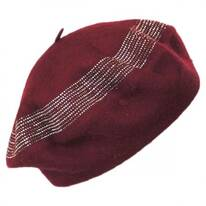 Crystals Wool Beret