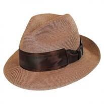 Nebula Hemp Straw Fedora Hat