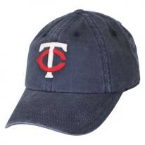 Minnesota Twins MLB Raglan Strapback Baseball Cap Dad Hat