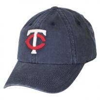 Minnesota Twins MLB Raglan Strapback Baseball Cap