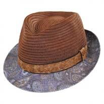 Remix Toyo Straw Fedora Hat