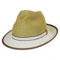 Brishen Vent Toyo Straw Fedora Hat