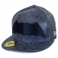 DC Comics Batman 9Fifty Leather Fitted Baseball Cap