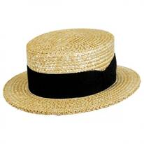 Sennett Italian Skimmer with Solid Hat Band