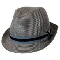 Bedford Toyo Straw Fedora Hat