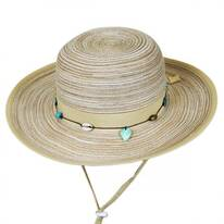 Kids' Shoreline Straw Sun Hat