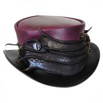 Perfect Malfoy Leather Top Hat