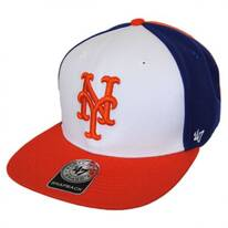 New York Mets MLB Amble Snapback Baseball Cap