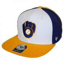 Milwaukee Brewers MLB Amble Snapback Baseball Cap
