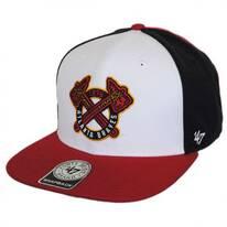 Atlanta Braves MLB Amble Snapback Baseball Cap