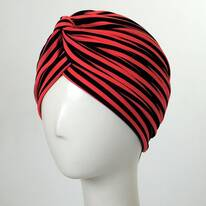 Striped Soft Poly Turban